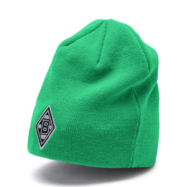 Borussia Mönchengladbach Reversible Beanie, Puma Black-Bright Green, large