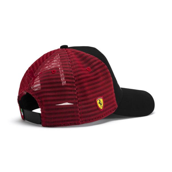 Gorra urbana de aficionado Ferrari, Puma Black, grande