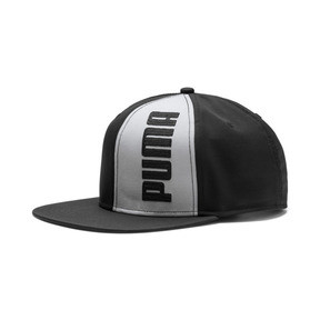 Thumbnail 1 of Flatbrim Cap II, Puma Black-Limestone, medium