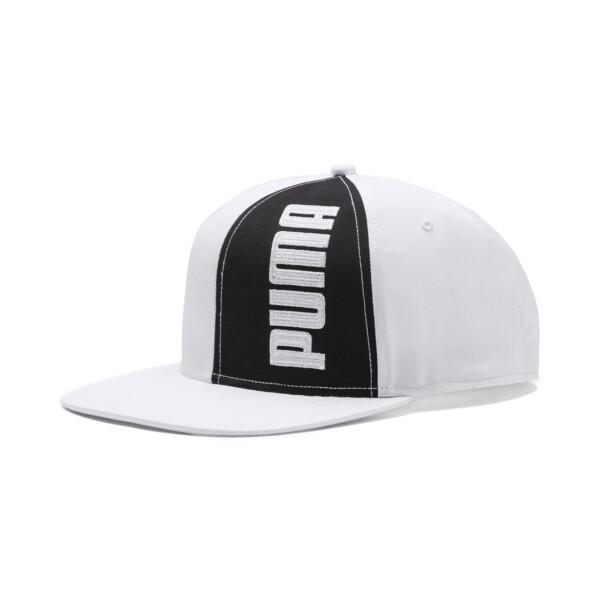 PUMA Flatbrim Cap II, Puma White-Puma Black, large