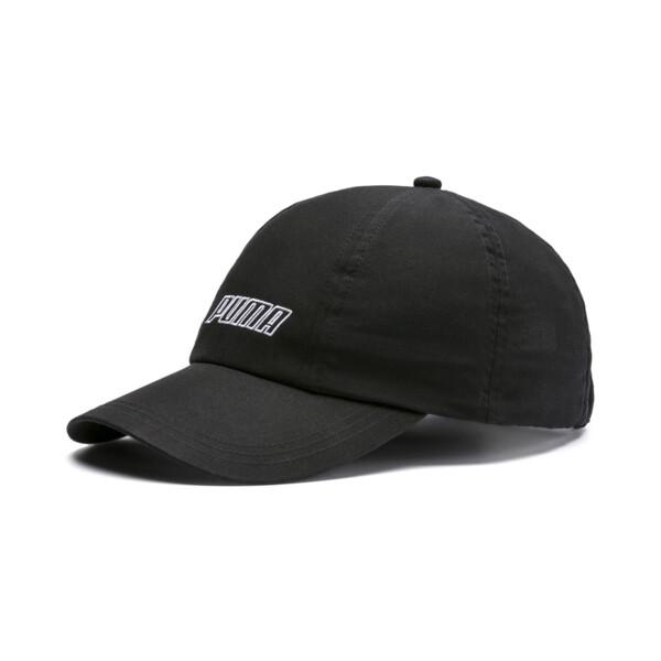 Style Women's Woven Cap, Puma Black, large