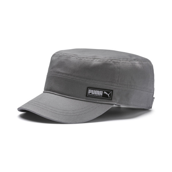 PUMA Military Cap, Charcoal Gray, large
