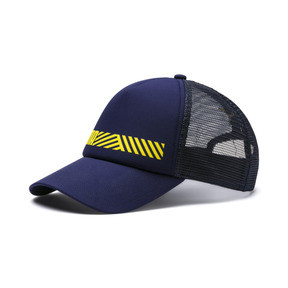 Thumbnail 1 of Casquette TecTrucker, Peacoat-Blazing Yellow, medium