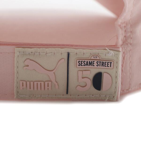 キッズ PUMA x SESAME STREET BB キャップ, Veiled Rose-Cherry Tomato, large-JPN