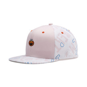 Thumbnail 1 of Sesame Street FB Cap, White-Veiled Rose-graphic, medium