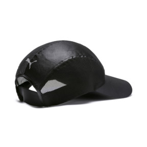 Thumbnail 2 of Cosmic Damen Running Cap, Puma Black-Puma Black, medium