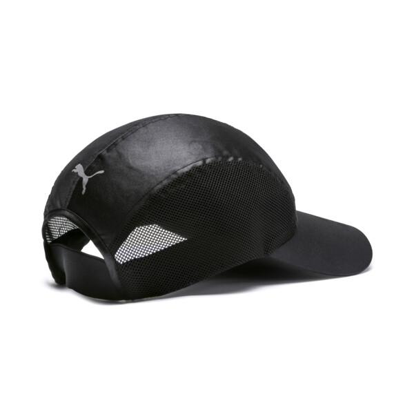 Cosmic Damen Running Cap, Puma Black-Puma Black, large