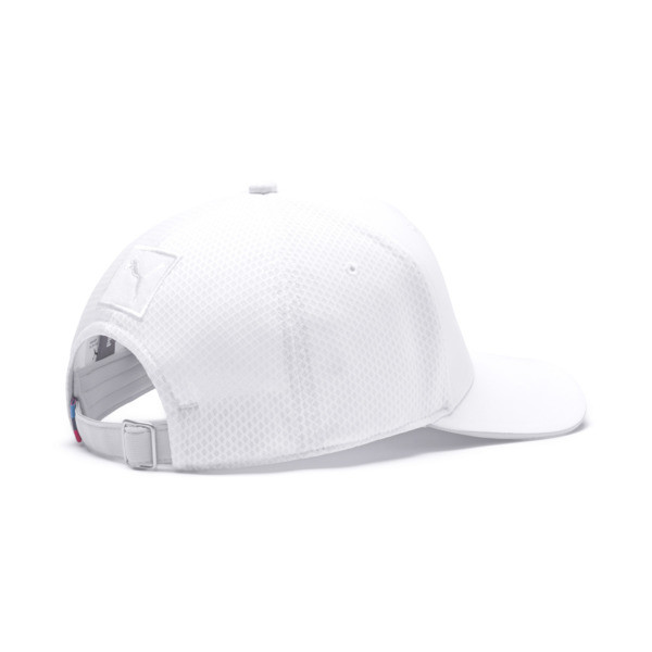 BMW M Motorsport Basbeball Cap, Puma White, large