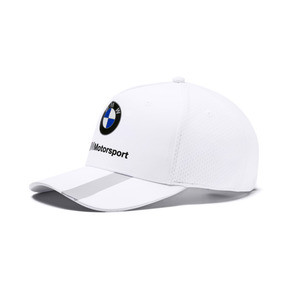Thumbnail 1 of BMW M Motorsport Basbeball Cap, Puma White, medium