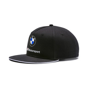 Thumbnail 1 of BMW M Motorsport Flat Brim Cap, Puma Black, medium