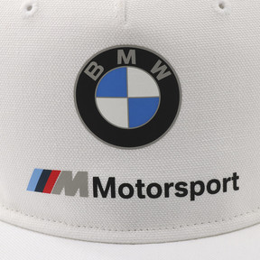 Thumbnail 6 of BMW M モータースポーツ FB キャップ, Puma White, medium-JPN
