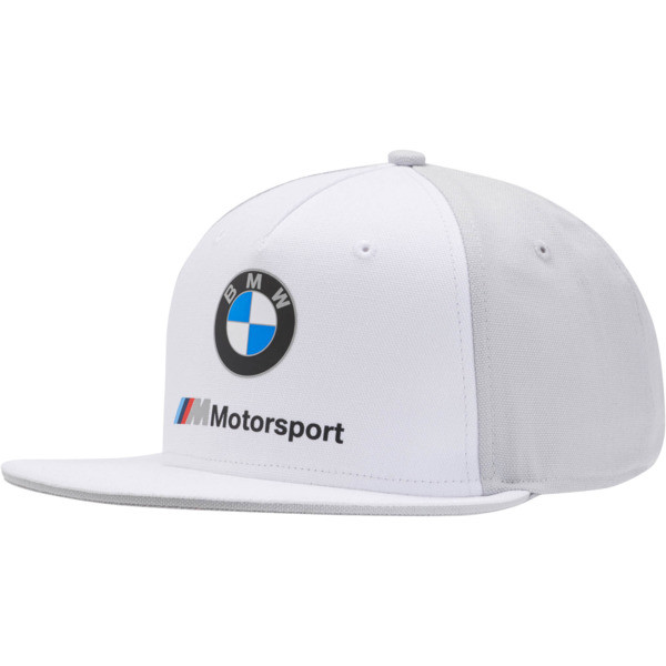 BMW M Motorsport FB Cap, Puma White, large