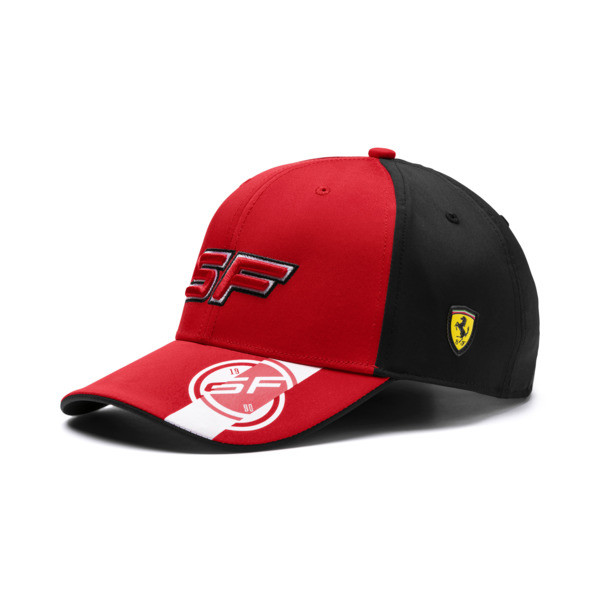 Ferrari Fanwear Street Cap, Rosso Corsa, large
