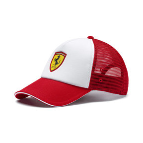 Thumbnail 1 of Scuderia Ferrari Fanwear Trucker BB Cap, 01, medium