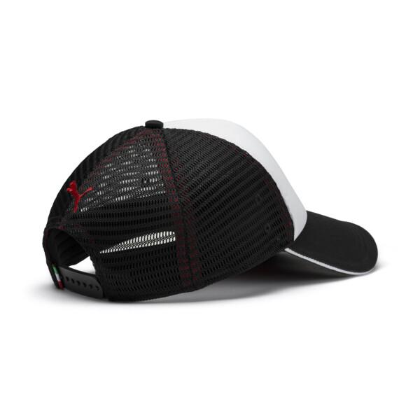 Scuderia Ferrari Fanwear Trucker BB Cap, Puma Black, large