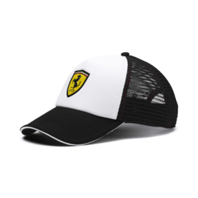 Thumbnail 1 of Scuderia Ferrari Fanwear Trucker BB Cap, Puma Black, medium