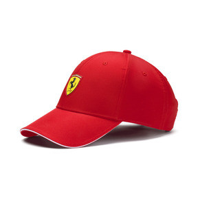 Thumbnail 1 of Ferrari Fanwear Baseball Cap, Rosso Corsa, medium