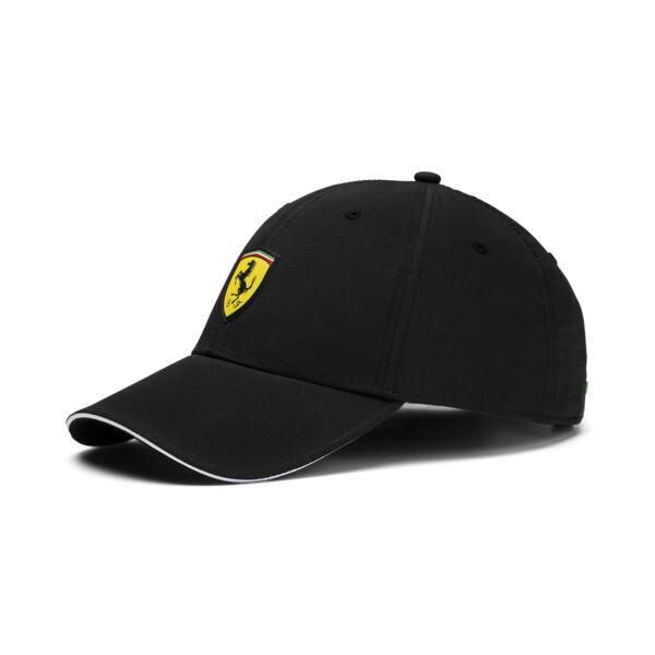 Scuderia Ferrari Fanwear Baseball Cap, Puma Black, large