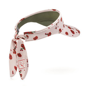 Thumbnail 2 of PUMA x SUE TSAI Visor, Pearl-AOP-Hibiscus, medium