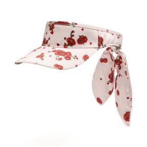 Thumbnail 1 of PUMA x SUE TSAI Visor, Pearl-AOP-Hibiscus, medium
