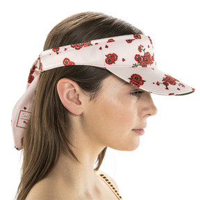 Thumbnail 3 of PUMA x SUE TSAI Visor, Pearl-AOP-Hibiscus, medium