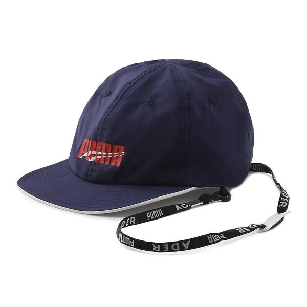 PUMA x ADER ERROR REVERSIBLE CAP, Puma White-Peacoat(inside), large-JPN