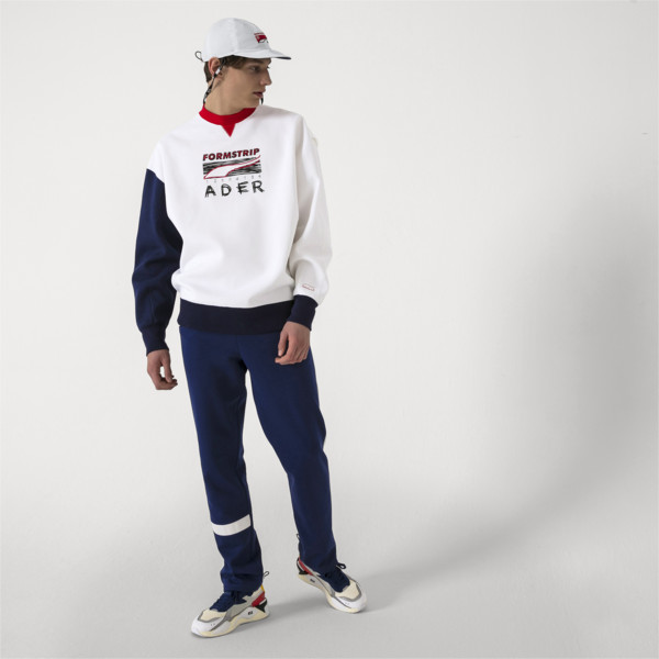 PUMA x ADER ERROR Reversible Cap, Puma White-Peacoat(inside), large