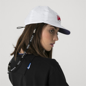 Thumbnail 6 of PUMA x ADER ERROR Reversible Cap, Puma White-Peacoat(inside), medium