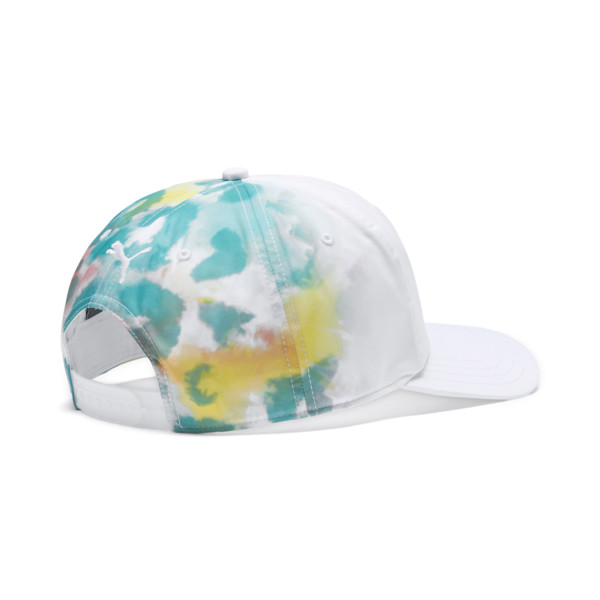 PUMA x DIAMOND Baseball Cap, Puma White-AOP, large