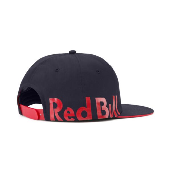Red Bull Racing Lifestyle Flat Brim Cap, NIGHT SKY, large