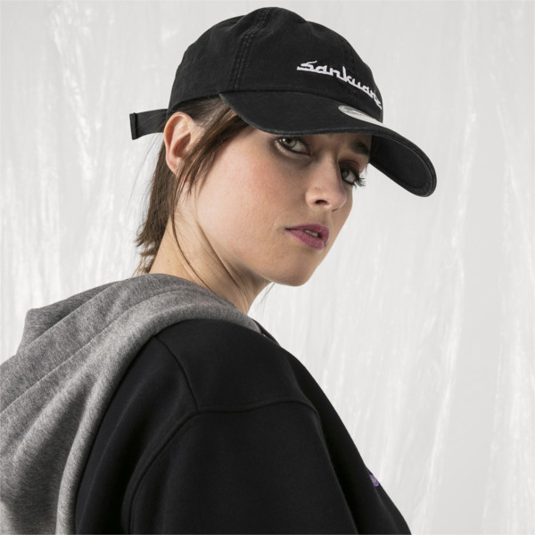 PUMA x SANKUANZ Baseball Cap, Puma Black, large