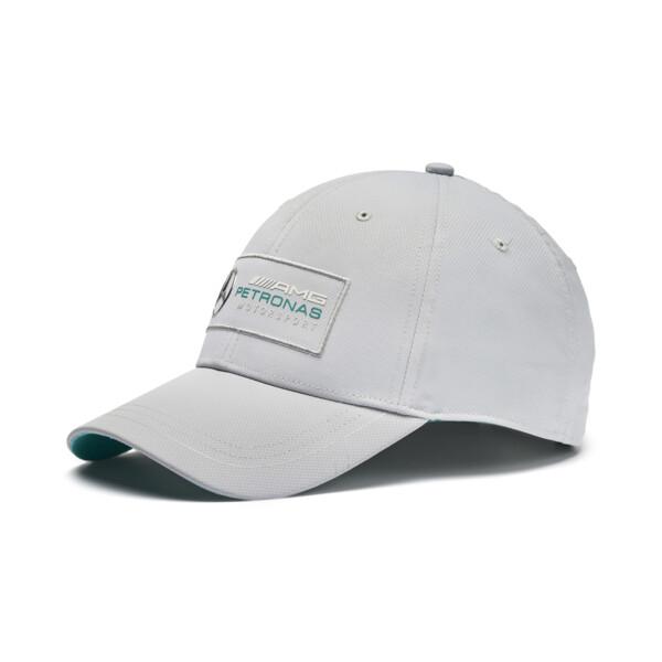 MERCEDES AMG PETRONAS Motorsport Baseball Cap, Mercedes Team Silver, large