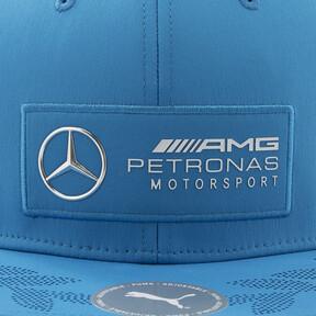 Thumbnail 7 of MERCEDES AMG PETRONAS MOTORSPORT フラットブリム キャップ, Indigo Bunting Heather, medium-JPN