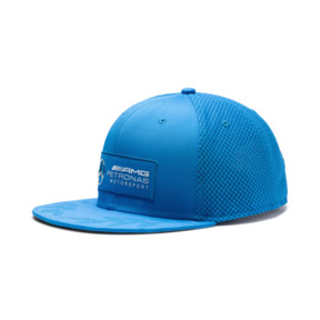 Thumbnail 1 of Mercedes AMG Petronas Flatbrim Cap, Indigo Bunting Heather, medium