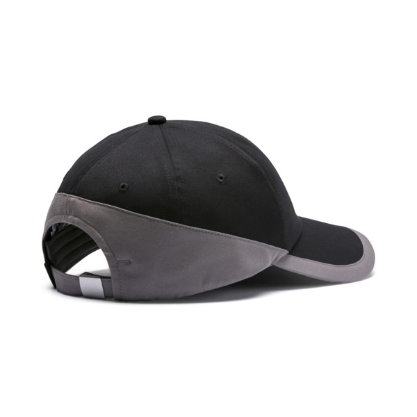 Premium Archive BB cap, Puma Black-Charcoal Gray, large