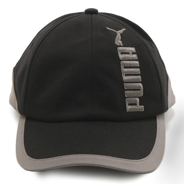 プレミアム アーカイブ BB キャップ, Puma Black-Charcoal Gray, large-JPN