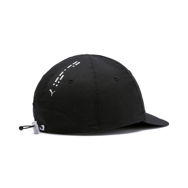 Epoch Low Curve Cap, Puma Black-Puma White, large
