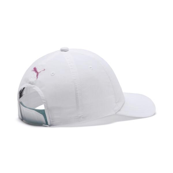 Women's Trailblazer Cap, Puma White-Blazing Yellow, large