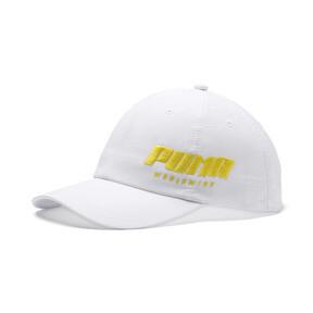 Thumbnail 1 of Women's Trailblazer Cap, Puma White-Blazing Yellow, medium