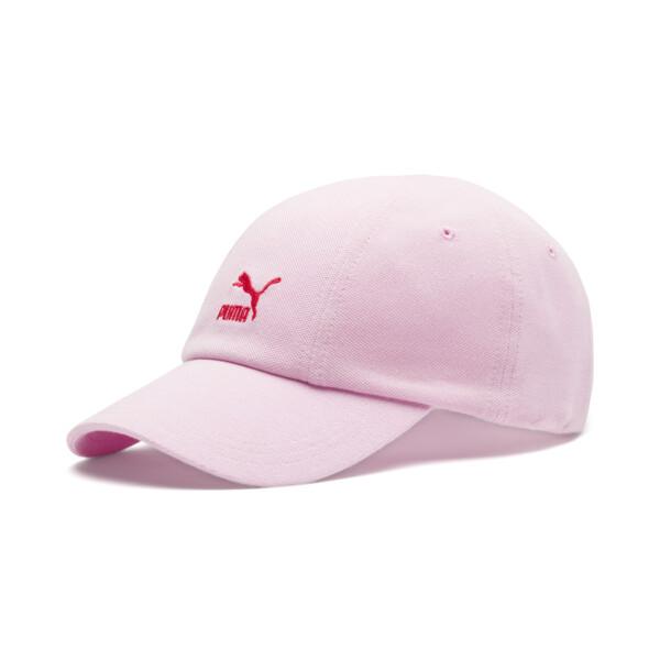 Women's Pique Cap, Lilac Sachet-Hibiscus, large