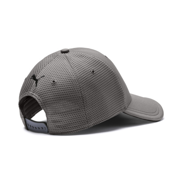 Ferrari Lifestyle Stretchfit Baseball Cap, Charcoal Gray, large