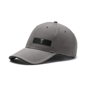Thumbnail 1 of Ferrari Lifestyle Stretchfit Baseball Cap, Charcoal Gray, medium