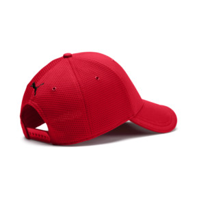 Thumbnail 2 of Ferrari Lifestyle Stretchfit Baseball Cap, Rosso Corsa, medium