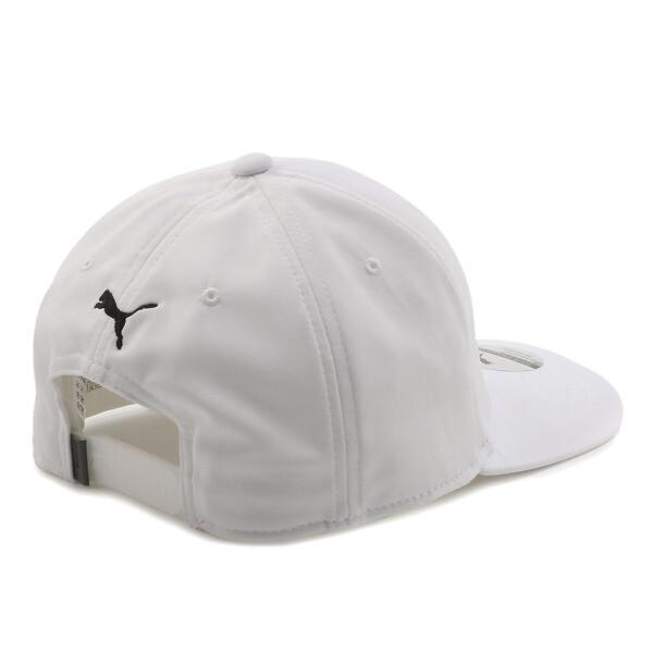 ゴルフ パッチ 110 スナップバック キャップ, Bright White, large-JPN