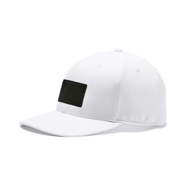 Utility Patch 110 Snapback, Bright White, large