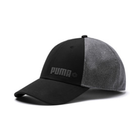 Thumbnail 1 of Dot Mesh Stretch Fit Cap, Puma Black, medium