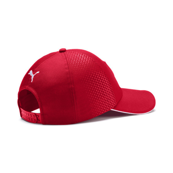 Ferrari Replica Vettel Baseball Cap, Rosso Corsa, large