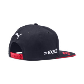 Thumbnail 2 of Red Bull Racing Replica Verstappen Flatbrim Cap, NIGHT SKY-Chinese Red, medium
