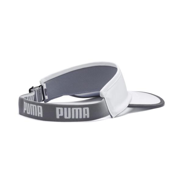 PUMA Running Visor, Puma White, large