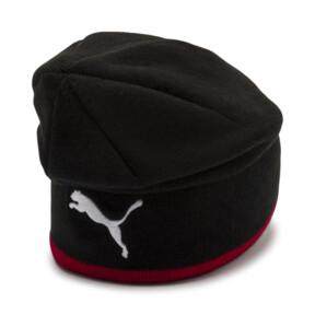 Thumbnail 2 of AC Milan Reversible Beanie, Tango Red-Puma Black, medium
